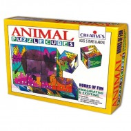 Creative's Animal Puzzle Cubes