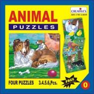 Creative's Animal Puzzle No. 0 3 to 6 Pieces