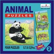 Creative's Animal Puzzle No. 2 5 to 12 Pieces