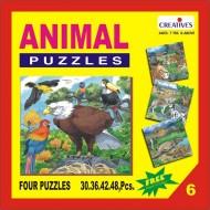 Creative's Animal Puzzle No. 6 30 to 48 Pieces