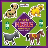 Creative's Early Puzzles Domestic Animals