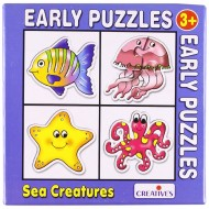 Creative's Early Puzzles Sea Creatures