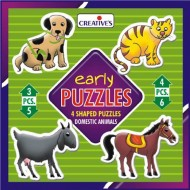 Creative's Early Puzzle Animals