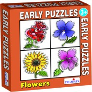 Creative's Early Puzzles Flowers