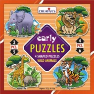 Creative's Early Puzzle Wild Animals