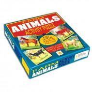 Creative's Farm Animal Activity Puzzles A set of 4 Puzzles