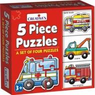 Creative's 5 Piece Puzzles