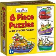 Creative's 6 Piece Puzzles
