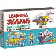 Creative's Learning Jigsaws Occupations 2