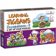 Creative's Learning Jigsaws Occupations 3