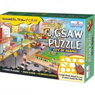 Creative's Jigsaw Puzzles City of Shapes