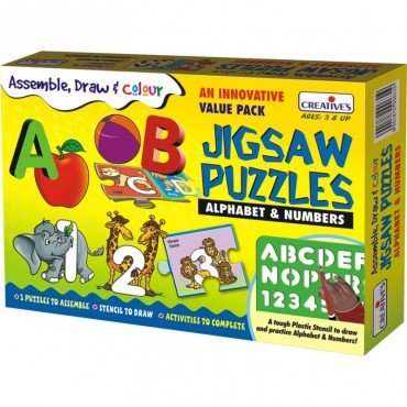 Creative's Assemble Draw Colour Alphabet Numbers