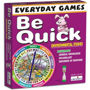 Creative's Everyday Games Be Quick Environmental Studies