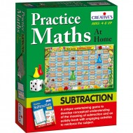 Creative's Practice Maths At Home Subtraction