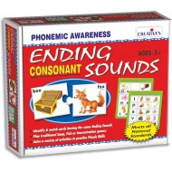 Creative's Ending Sounds Consonants Plastic Box