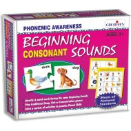 Creative's Beginning Sounds Consonants Plastic Box