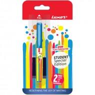 Luxor Student Spl Edition Fountain Pen Blue Body