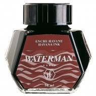 Waterman Ink Bottle Brown Havana