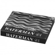 Waterman Ink Cartridge Black(Pack of 2)