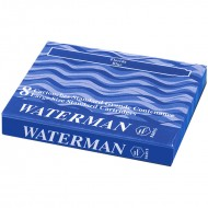 Waterman Ink Cartridge Florida Blue(Pack of 2)