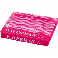 Waterman Ink Cartridge Pink(Pack of 2)