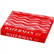 Waterman Ink Cartridge Red(Pack of 2)