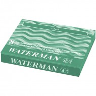 Waterman Ink Cartridge Green(Pack of 2)