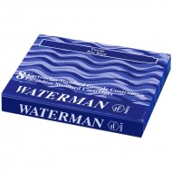 Waterman Ink Cartridge Blue Black(Pack of 2)