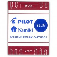 Pilot Ink Cartridges Blue Pack of 6