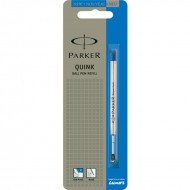 Parker Quink Flow Ball Point Refill Fine Blue(Pack of 4)