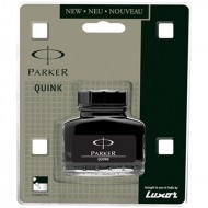Parker Quink Bottle Black(Pack of 4)