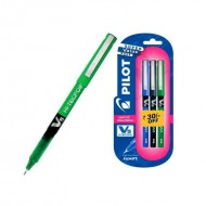 Pilot V5 Pen 1 Blue + 1 Black + 1 Green