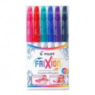 Pilot Frixion Colour Pack of 6 Pcs
