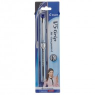 Pilot Hi Techpoint V5 Grip Blue Pen Pack of 12