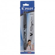 Pilot V Sign Black Pen Pack of 12