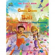 3 - In-One Book of Chhota Bheem and the Throne of Bali