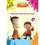 Chhota Bheem Mini Coloring & Activity Books Set