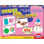 Frank Shapes And Colours My Big Flash Cards