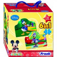 Frank Mickey Mouse Clubhouse 6 x 2 Pcs.