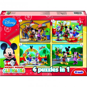 Frank Mickey Mouse Clubhouse 4 in 1