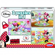 Frank Minnie Mouse 3 in 1 (3  x  48 Pcs)