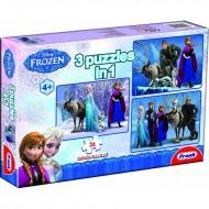 Frank Frozen 3 in 1 (3  x  48 Pcs)