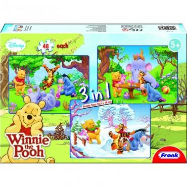 Frank Winnie The Pooh 3 in 1 (3  x  48 Pcs)