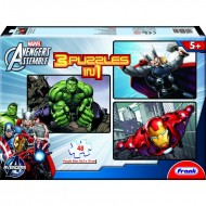 Frank Avengers 3 in 1 (3  x  48 Pcs)