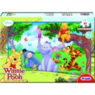 Frank Winnie The Pooh 60 Pieces puzzles