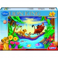 Frank The Lion King  108 Pc puzzles