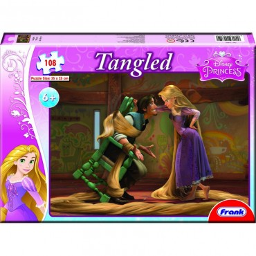 Frank Tangled 108 Pc puzzles