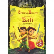 Chhota Bheem and The Throne of Bali With Free Audio CD
