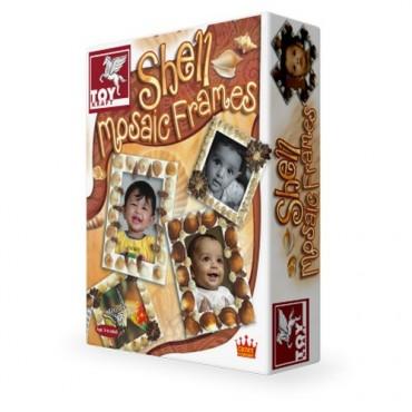 Toy Kraft Shell Mosiac Frame