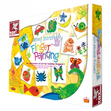 Toy Kraft Getting Started With Finger Painting 3